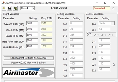 Picture of Parameter Set (V3 hardware)